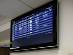 Dashboards can be displayed on large plasma or lcd displays in the unit or clinic