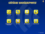 Clinical Touchscreens Main Menu
